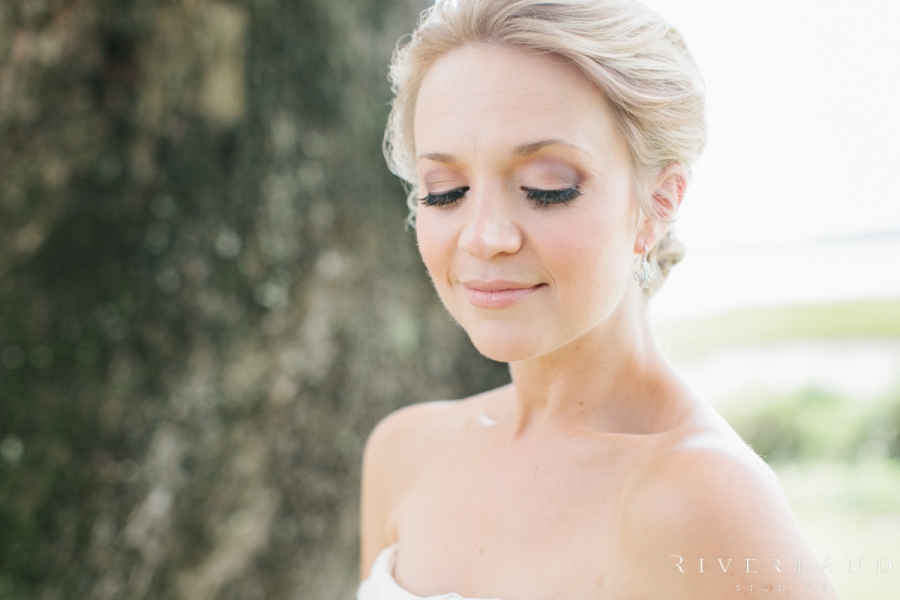 Bridal Portrait at Lowndes Grove