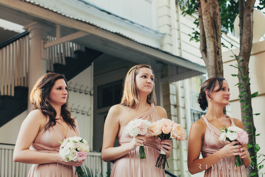 Bridesmaids at The Cabell House