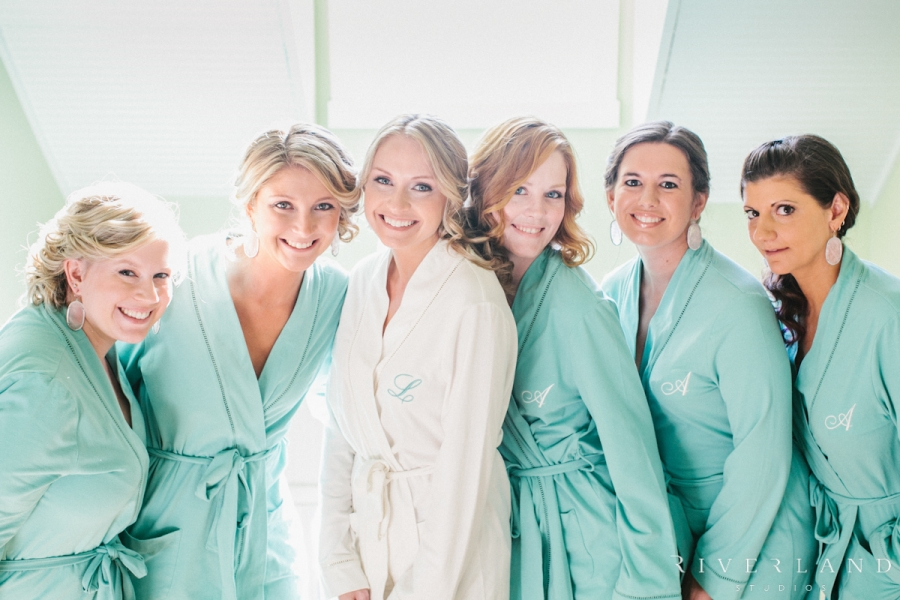 Monogrammed Bridesmaids Robes