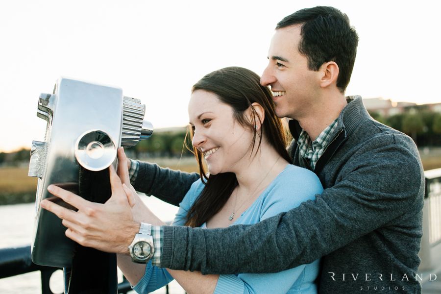 Waterfront Park Engagment Shoot
