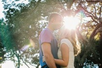 romantic sunflare photo
