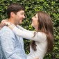 Laughing Engagement Picture