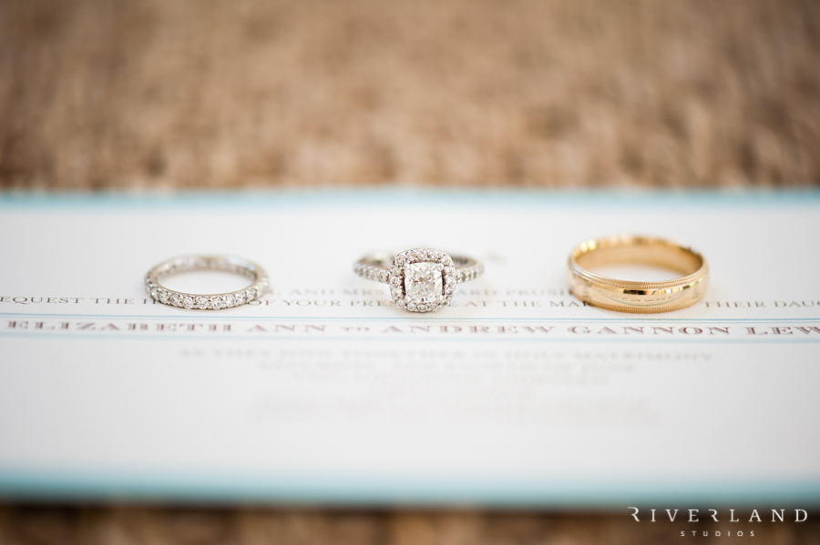 Wedding Rings on Invitations