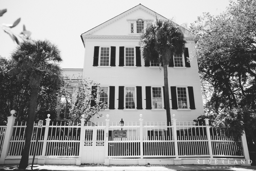 The Thomas Bennett House Charleston SC
