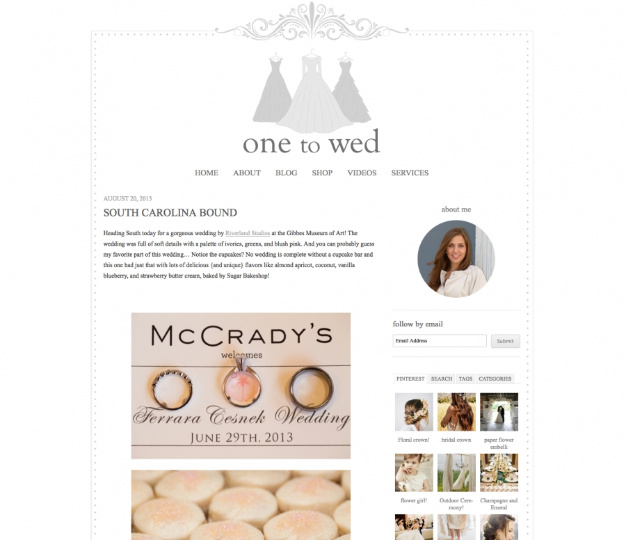 One to Wed Feature