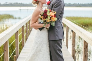 charleston sc wedding couple