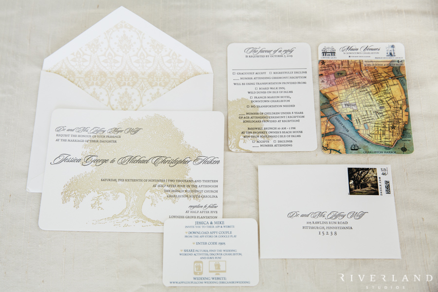 southern wedding invitations