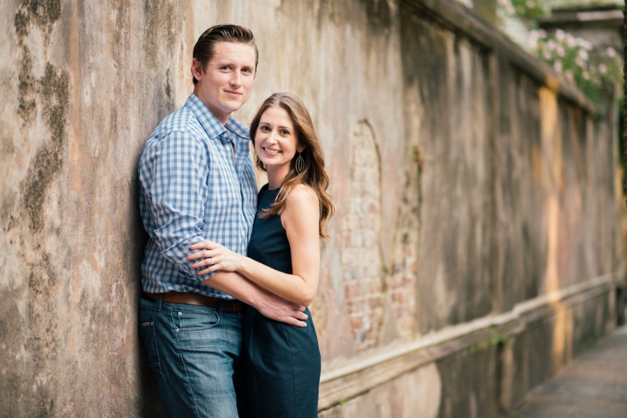 Downtown Charleston SC Engagement