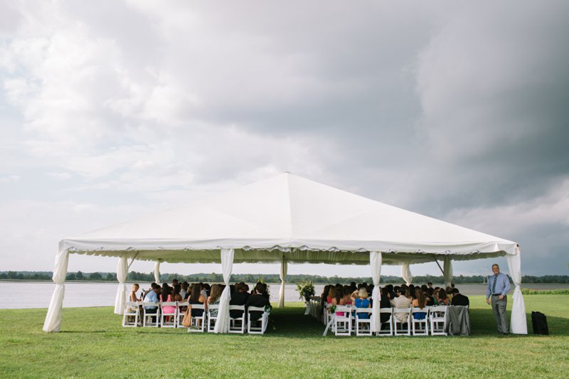 island house wedding