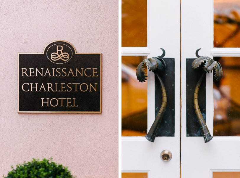 Downtown Charleston Mills House Wedding