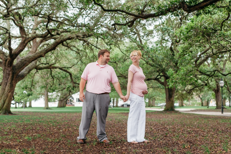 Charleston Maternity Portraits