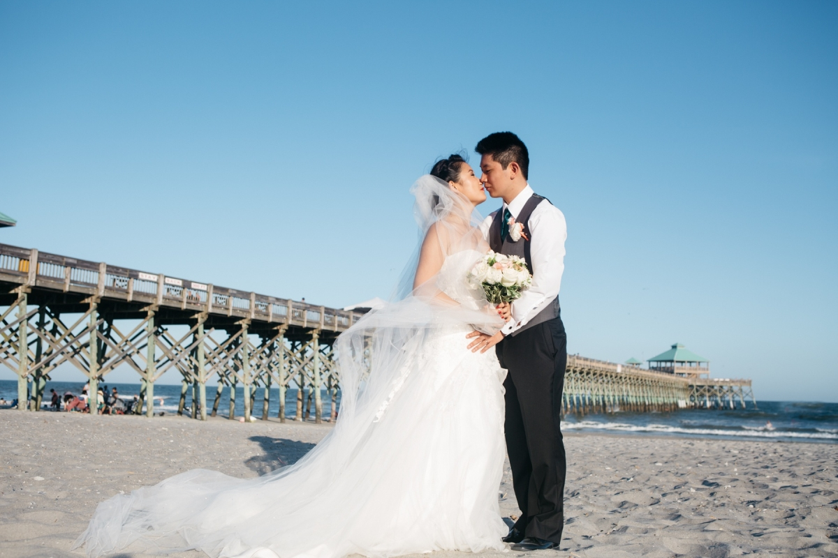 tides folly beach wedding