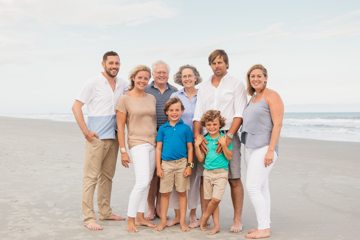 folly beach family portraits