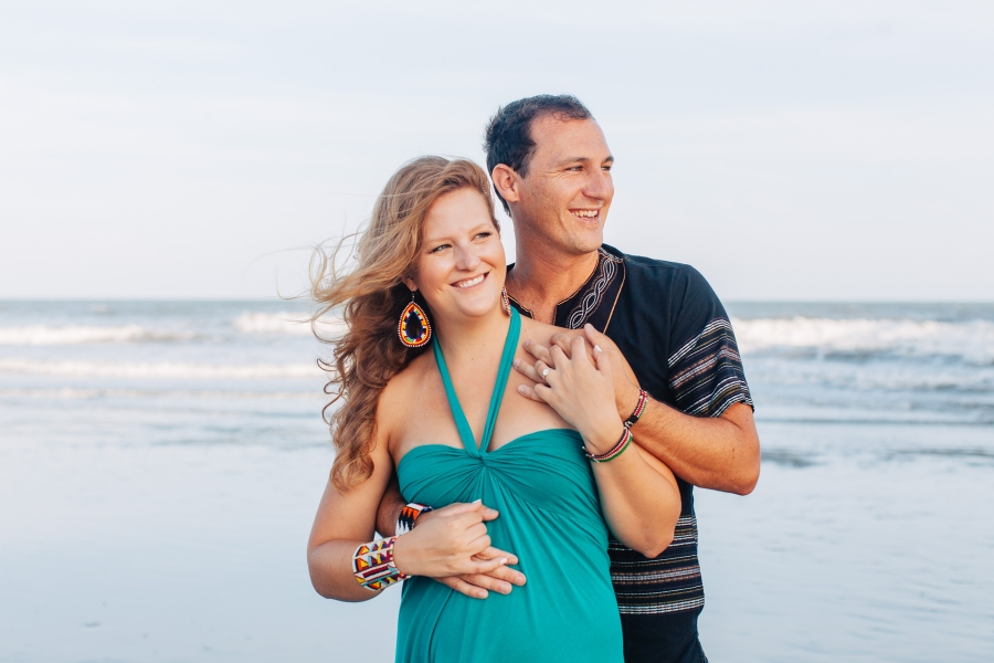 Folly Beach Engagement