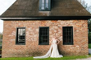 Middleton Place Bridal Portrait