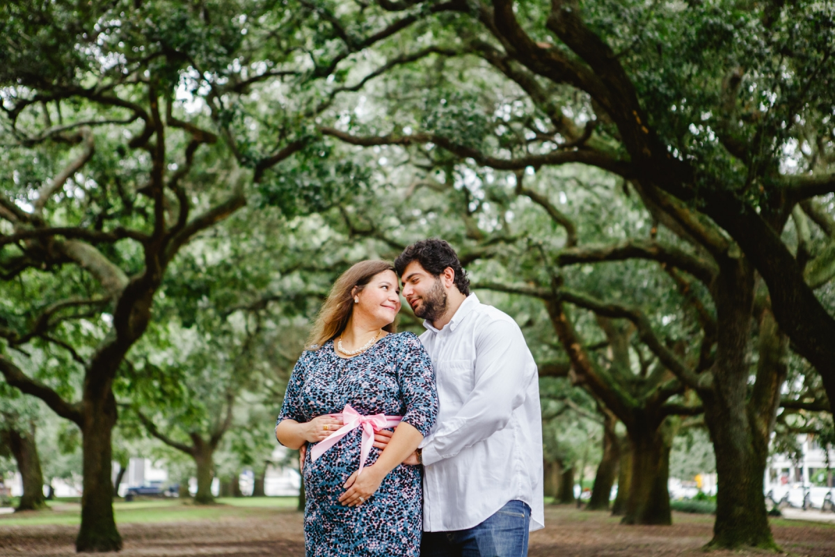 haley   downtown charleston maternity portraits
