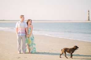 Susan & Robert { Folly Beach Engagement }