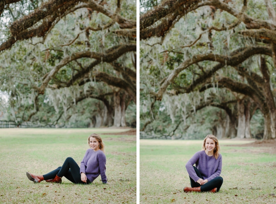 Boone Hall Senior portraits